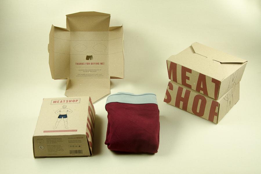 Meatshop Box Packaging
