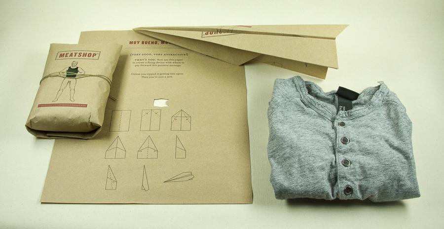 Meatshop Shirt Packaging