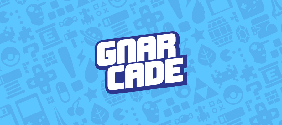 Gnarcade logo header
